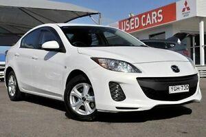 2013 Mazda 3 BL10F2 MY13 Neo Activematic White 5 Speed Sports Automatic Sedan Gosford Gosford Area Preview