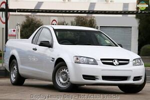 2010 Holden Ute VE MY10 Omega White 4 Speed Automatic Utility Knoxfield Knox Area Preview