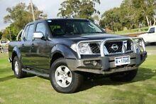 2009 Nissan Navara D40 ST-X Grey 6 Speed Manual Utility Wangara Wanneroo Area Preview