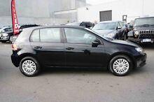 2010 Volkswagen Golf VI MY10 90TSI Trendline Black 6 Speed Manual Hatchback Osborne Park Stirling Area Preview