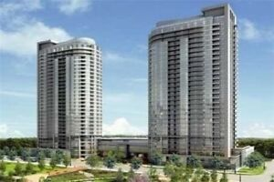 1 Bed+ Den. Bright, Sunfilled ,Unobstructed View, close 401