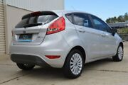 2012 Ford Fiesta WT LX PwrShift Silver 6 Speed Sports Automatic Dual Clutch Hatchback Ashmore Gold Coast City Preview