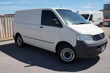 2010 Volkswagen Transporter T5 MY09 Low Roof White 6 Speed Sports Automatic Van Pearsall Wanneroo Area Preview