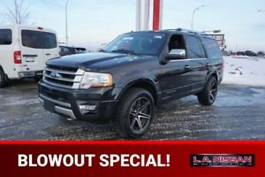 2015 Ford Expedition 4X4 PLATINUM Navigation (GPS),  Leather,  H
