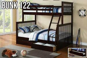 Solid wood Bunks *NEW 2015 Arrivals* FREE TRUNDLE w purchase