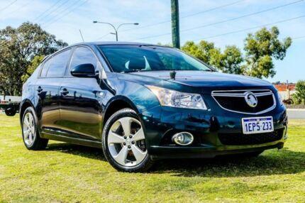 2014 Holden Cruze JH Series II MY14 Equipe Green 5 Speed Manual Hatchback Wangara Wanneroo Area Preview