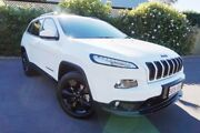 2015 Jeep Cherokee KL MY15 Blackhawk White 9 Speed Sports Automatic Wagon Glenelg East Holdfast Bay Preview