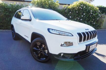 2015 Jeep Cherokee KL MY15 Blackhawk White 9 Speed Sports Automatic Wagon Glenelg South Holdfast Bay Preview