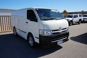2013 Toyota Hiace TRH201R MY12 LWB White 4 Speed Automatic Van Pearsall Wanneroo Area Preview