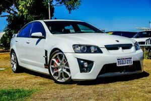 2008 Holden Special Vehicles GTS E Series MY09 White 6 Speed Sports Automatic Sedan