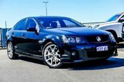 2011 Holden Commodore VE II MY12 SS-V Black 6 Speed Automatic Sedan Wangara Wanneroo Area Preview