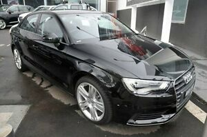 2015 Audi A3 8V MY16 Attraction S tronic Black 7 Speed Sports Automatic Dual Clutch Sedan North Melbourne Melbourne City Preview