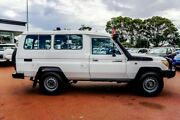 2012 Toyota Landcruiser VDJ78R MY10 Workmate Troopcarrier White 5 Speed Manual Wagon Balcatta Stirling Area Preview