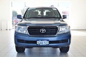 2009 Toyota Landcruiser VDJ200R GXL (4x4) Blue 6 Speed Automatic Wagon Morley Bayswater Area Preview
