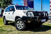 2011 Toyota Landcruiser Prado KDJ150R GX White 6 Speed Manual Wagon Wangara Wanneroo Area Preview