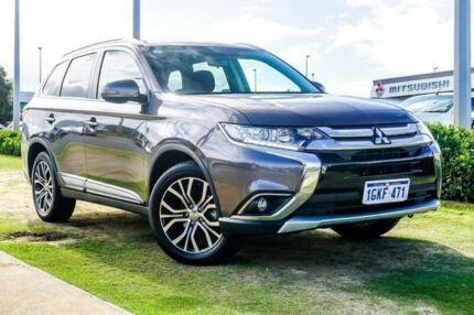 2017 Mitsubishi Outlander ZK MY18 LS AWD Bronze 6 Speed Constant Variable Wagon Wangara Wanneroo Area Preview