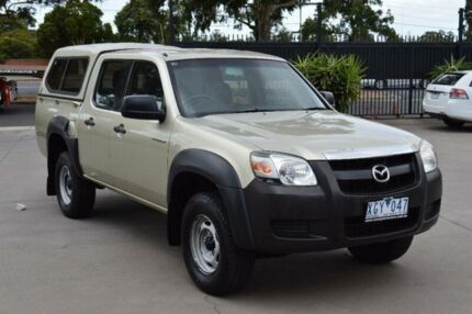 2007 Mazda BT-50 B3000 DX (4x4) Bronze 5 Speed Manual Dual Cab Pick-up West Footscray Maribyrnong Area Preview