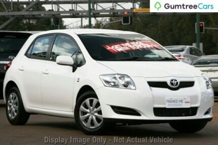 2009 Toyota Corolla ZRE152R Ascent Red 4 Speed Automatic Hatchback