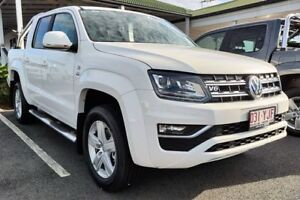 2018 Volkswagen Amarok 2H MY18 TDI550 4MOTION Perm Highline Candy White 8 Speed Automatic Utility Mackay Mackay City Preview