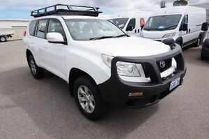 2012 Toyota Landcruiser Prado KDJ150R GX White 5 Speed Sports Automatic Wagon Pearsall Wanneroo Area Preview