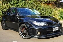 2012 Subaru Impreza G3 MY12 WRX Club Spec AWD Black 5 Speed Manual Sedan Glenelg East Holdfast Bay Preview