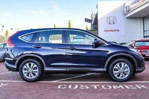 2014 Honda CR-V 30 MY14 DTI-S (4x4) Deep Ocean Blue 6 Speed Manual Wagon Myaree Melville Area Preview