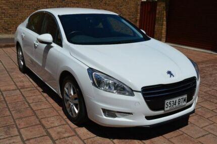 2012 Peugeot 508 Active EGC e-HDi White 6 Speed Sports Automatic Single Clutch Sedan