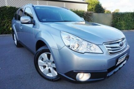 2010 Subaru Outback B5A MY11 2.5i Lineartronic AWD Silver 6 Speed Constant Variable Wagon Glenelg East Holdfast Bay Preview