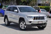 2012 Jeep Grand Cherokee WK MY2012 Laredo Bright Silver 5 Speed Sports Automatic Wagon Southport Gold Coast City Preview