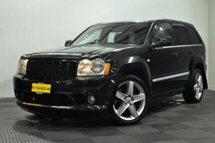 2007 Jeep Grand Cherokee WH MY2007 SRT-8 Black 5 Speed Automatic Wagon