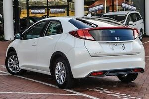 2014 Honda Civic  White Orchid Automatic Hatchback Myaree Melville Area Preview