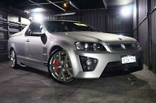 2008 Holden Special Vehicles Maloo E Series MY09 R8 Silver 6 Speed Sports Automatic Utility Wangara Wanneroo Area Preview