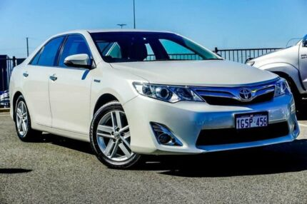 2013 Toyota Camry AVV50R Hybrid HL White Continuous Variable Sedan Wangara Wanneroo Area Preview