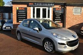 PEUGEOT 207 1.4 S 5d 73 BHP SERVICE HISTORY (silver) 2008
