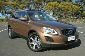 2010 Volvo XC60 DZ MY11 T6 Geartronic AWD Brown 6 Speed Sports Automatic Wagon Derwent Park Glenorchy Area Preview