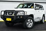 2013 Nissan Patrol Y61 GU 9 ST White 4 Speed Automatic Wagon Canning Vale Canning Area Preview