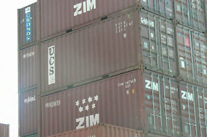 20' Shipping Containers WWT