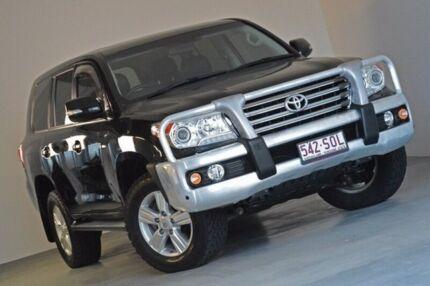 2012 Toyota Landcruiser VDJ200R MY12 VX Black 6 Speed Sports Automatic Wagon