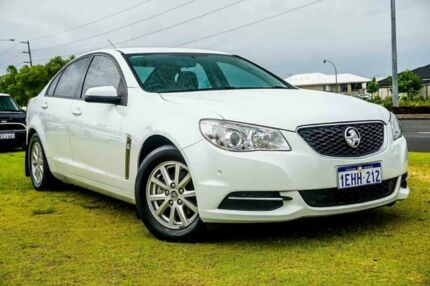 2013 Holden Commodore VF MY14 Evoke White 6 Speed Sports Automatic Sedan Wangara Wanneroo Area Preview