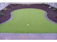 2m & 4m High quality Artificial grass Astro turf fake grass lawn (Glasgow putting green Scotland