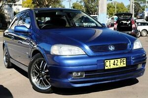 2002 Holden Astra Blue Automatic Hatchback North Gosford Gosford Area Preview