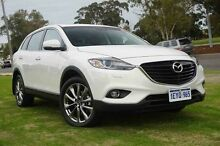 2015 Mazda CX-9 TB10A5 MY14 Grand Touring Activematic AWD White 6 Speed Sports Automatic Wagon Wangara Wanneroo Area Preview