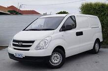 2010 Hyundai iLOAD TQ-V Crew Cab White 5 Speed Manual Van South Launceston Launceston Area Preview