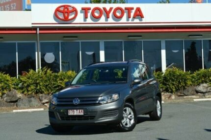 2013 Volkswagen Tiguan 5N MY13.5 118TSI 2WD Grey 6 Speed Manual Wagon Highland Park Gold Coast City Preview
