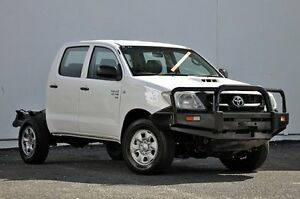 2011 Toyota Hilux KUN26R MY12 SR Double Cab White 5 Speed Manual Utility Tweed Heads South Tweed Heads Area Preview