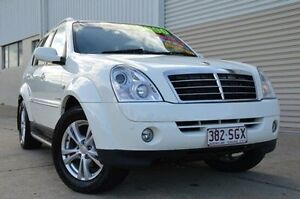 2011 Ssangyong Rexton Y285 II MY10 RX270 XVT SPR White 5 Speed Sports Automatic Wagon Ashmore Gold Coast City Preview