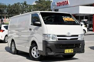 2013 Toyota Hiace KDH201R MY12 LWB French Vanilla 4 Speed Automatic Van Wyoming Gosford Area Preview