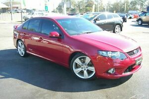 2009 Ford Falcon FG XR6T Red 6 Speed Manual Sedan Shailer Park Logan Area Preview