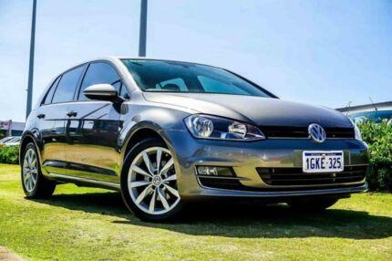 2015 Volkswagen Golf VII MY16 110TSI DSG Highline Grey 7 Speed Sports Automatic Dual Clutch