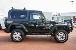 2007 Jeep Wrangler JK Sport Black 5 Speed Automatic Softtop Westminster Stirling Area Preview